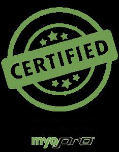 Certified Myopro